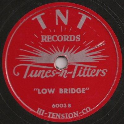 Party Record: Low Bridge/ Now I Know (Off-Color) 78 - Colour 78