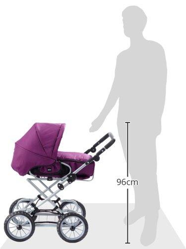 Amazon.es: - 24890310 Brio Combi cochecito de muñecas, violeta [importado de Alemania]: Juguetes y juegos