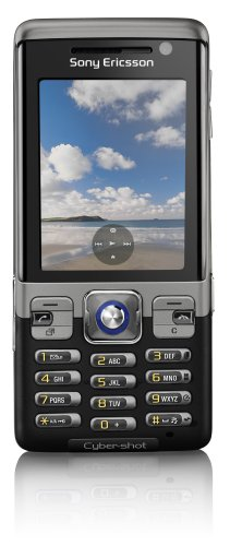 Sony Ericsson C702i Cyber-shot Unlocked Phone with 3.2 MP Camera, International 3G, Media Player, M2 Memory Slot--U.S. Version with Warranty (Speed Black) (Sony Ericsson Sprint)