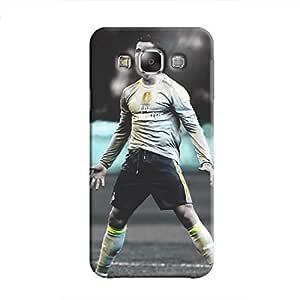 Cover It Up - Cristiano Green Monochrome Galaxy E5 Hard Case
