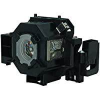 AuraBeam Economy Epson ELPLP42 Projector Replacement Lamp with Housing