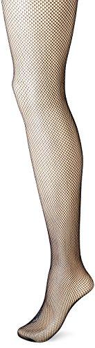 No Nonsense Women's Fishnet Openwork Tight, Black, Small/Medium (Stockings And Tights)