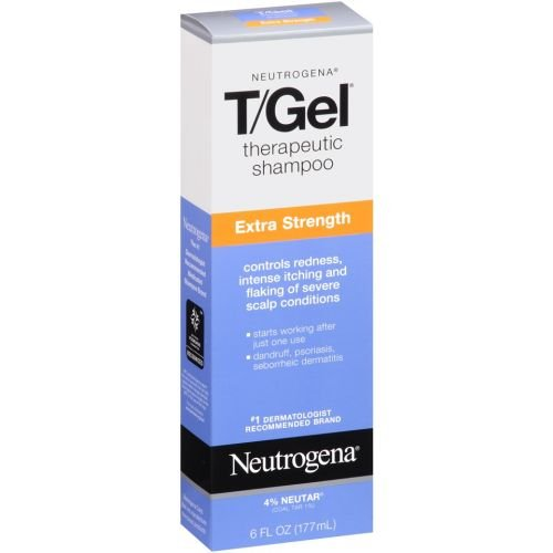 Neutrogena T Gel Extra Strength Therapeutic Shampoo, 6 Fl...