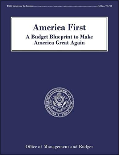 America First A Budget Blueprint To Make America Great Again