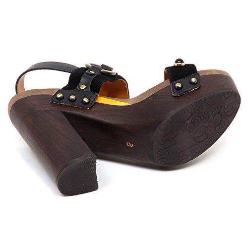 Suede Sandal Scarpe Shoe Nero Donna Nero Sandalo D9560 Flogg Entrada Woman CYqSC0