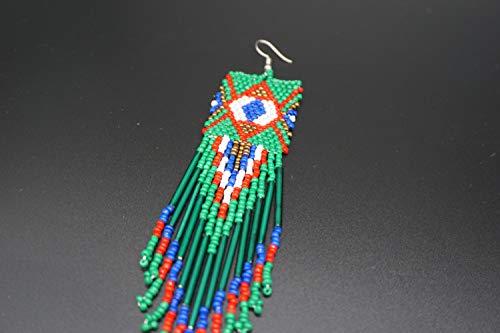Buy glass beaded native american earrings
