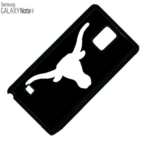 Longhorn texas Samsung Note 4 PLASTIC cell phone Case / Cover Great Gift Idea ()