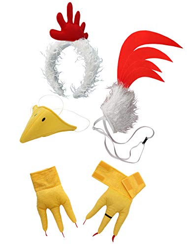 - elope Full Chicken Costume Bundle for Adults & Kids
