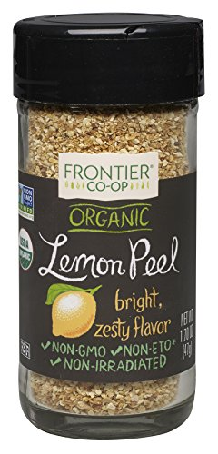 (Frontier Natural Products Lemon Peel, Og, Granules, 1.7 Ounce)