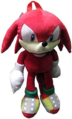 meilleure sélection b4036 c249d Peluche Sac A Dos Sonic Rouge: Amazon.fr: Jeux et Jouets