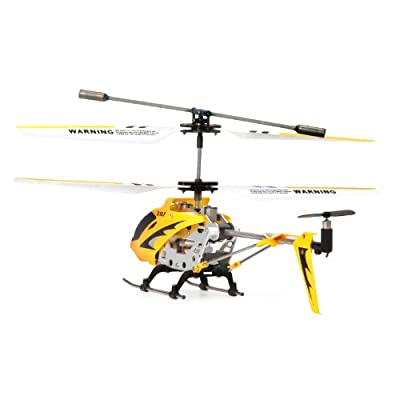 Syma S107/S107G 3 Channel RC Heli with Gyro - Yellow: Toys & Games