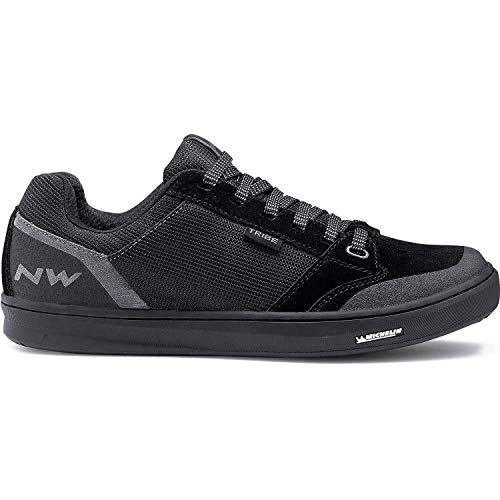 Northwave bike cycling shoes male tribe color black flat pedal - 47