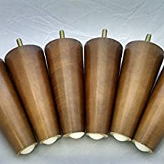 Design 59 Inc  Mid Century Modern Replacement Furniture Legs, Six Legs  American.