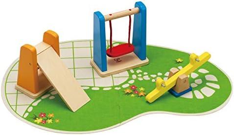 Hape Spielplatz - Hape Puppenhausmöbel - Hape Puppenhaus Vier Jahreszeiten