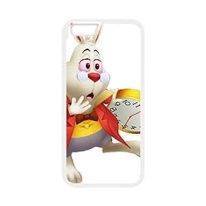 iPhone6 Plus 5.5 inch Phone Ceses white Alice in Wonderland White Rabbit BF873614