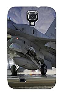 For Galaxy Case, High Quality F-16 Fighting Falcon For Galaxy S4 Cover Cases / Nice Case For Lovers' Gifts