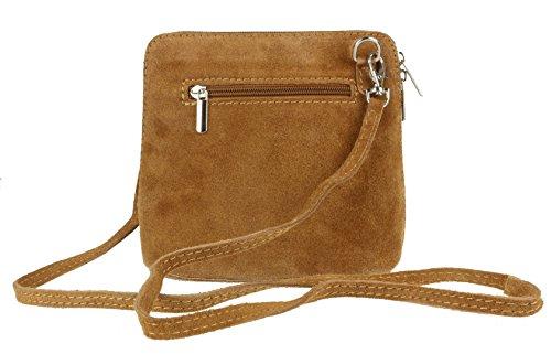 Girly Handbags - Bolso cruzados de Material Sintético para mujer beige
