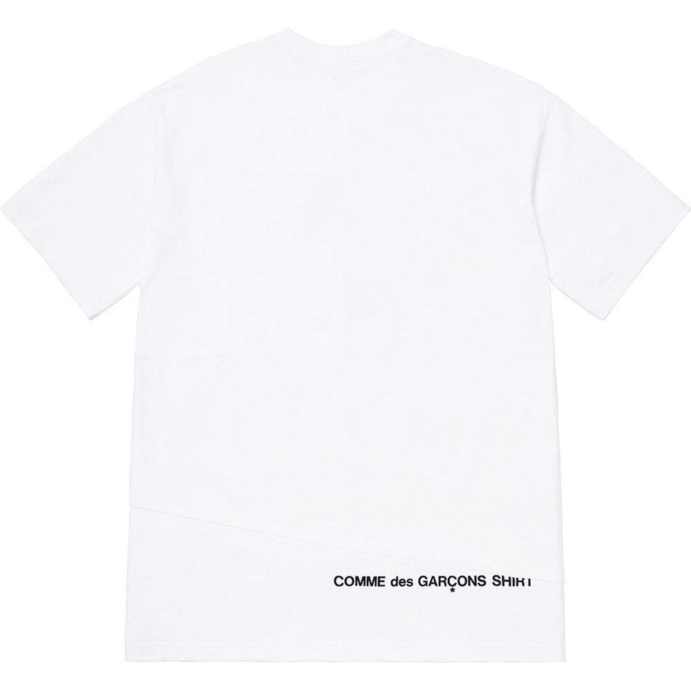 d39591c45063 SupremeNewYork Supreme Comme des Garcons CDG TEE Shirt Split Box Logo Tee  White 100% Authentic Sold Out Rare   Amazon.com
