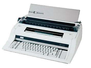 Nakajima ae-830 amplia transporte electrónico máquina de escribir, 40 caracteres, 48 K