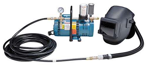 Supplied Air Pump Package, 1-1/2 HP, People Served: 2, Headgear Included: Welding - Pump Air Supplied Package