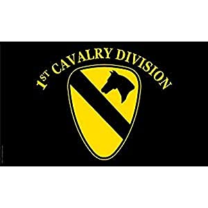 amazoncom us army 1st cavalry division flag 3ft x 5ft