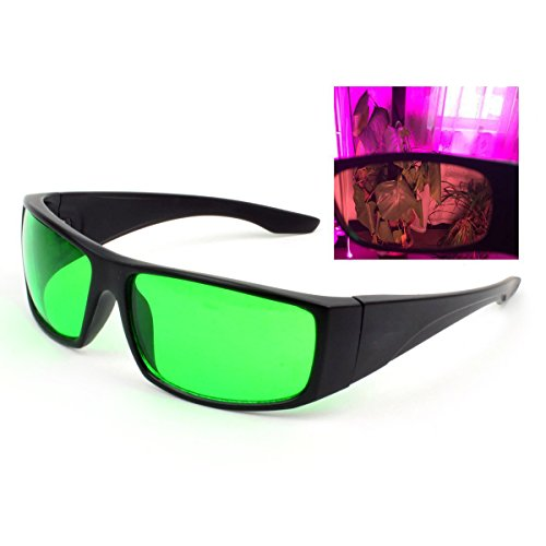 LED Grow Light Glasses Protective Safety Indoor Room Hydroponics for Intense LED lighting Visual Eye Protection by WESTLINK