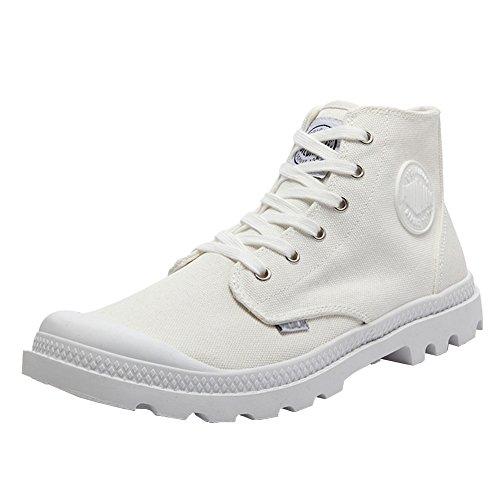 Sneaker Couple Men's Field Combat Canvas Men Paladin Outdoor top Unisex Boots High white Women's 4q8qT