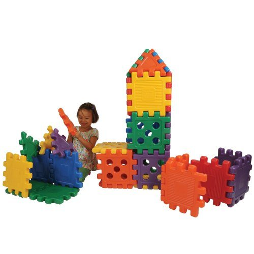 Careplay Grid Blocks 16 Pc Set