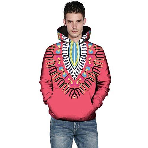 Hommes couleur Hoodie Rouge Uk Taille Africain 5xl 20 Rouge Chaud Xxxxxl 3d 22 Long Et Oversize Zip Top Rouge Full Africain Zhrui Sport IqwZBXx