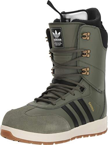 adidas Samba Adv Snowboard Boots Base Green/Black/Off White Mens Sz 9 (Size 9 Snowboard Boots)