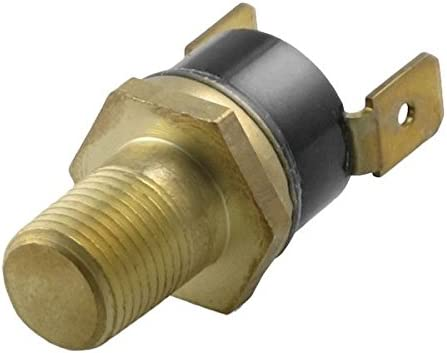 1//4 NPT, 200F On - 185F Off American Volt Electric Radiator Fan Ground Thermo Switch 1//8 1//4 3//8 1//2 Inch NPT Temp Sensor Thread-in Brass Probe