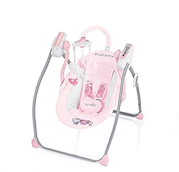 Amazon Com Brevi 559hk Miou Hello Kitty Swing Rocking With