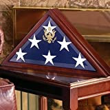 American Flag Display Case - (holds a 5 x 9.5 burial flag ) W