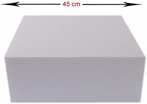 mytorten País poliestireno tartas Dummy Plaza 10 x 10 cm altura a elegir, 10 x 10 cm: Amazon.es: Hogar