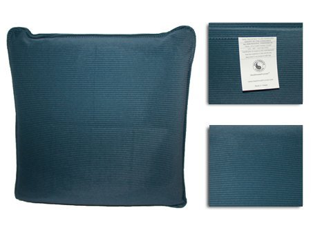 HealthmateForever Pressure Activated Massage Pillow (Slate Blue) HealthmateForever High Quality Pulsating Vibrating Relaxation Pillow | Can be used as a Sciatica Nerve Cushion to Treat Sciatic Pain | Great Massaging (Gentle Touch Air Massage)