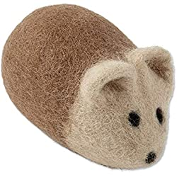 Orvis Natural Wool Ball Animal Toy, Mouse
