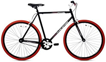 Thruster 700C Urban Fixie Bike - Bicicleta de Ciclismo, Color Negro ...