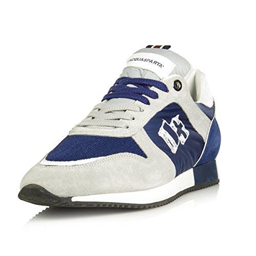 D'acquasparta blu Nr Made U750pb 43 In Pelle Italy Cosimo Sneaker Perla 6f6Upaq