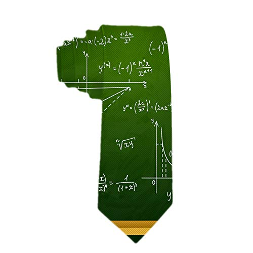- SARA NELL Men's Classic Woven Business Tie Silk Necktie Mathematical Equations And Formulas Chipboard Neck Ties