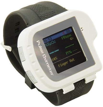 Mobiclinic, CMS50I, Reloj Pulsioxímetro de muñeca, Controla tu pulso y oxigeno de forma continua, Oxímetro de pulso