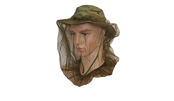 743dd87174316 Amazon.com   GI Vietnam Era Jungle Boonie Hat With Insect Head Net Size  6-5 8   Sports   Outdoors