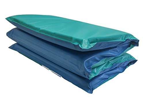KinderMat DayDreamer Rest Mat, 2 Inch Thick, Blue/Teal, 10-mil Vinyl