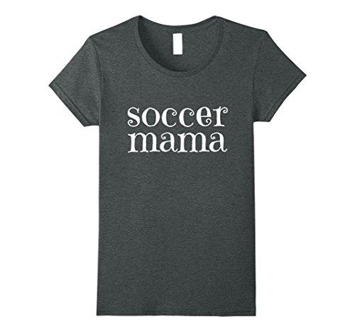 Womens Soccer Mama - Soccer Mom Shirts for Women XL Dark Heather
