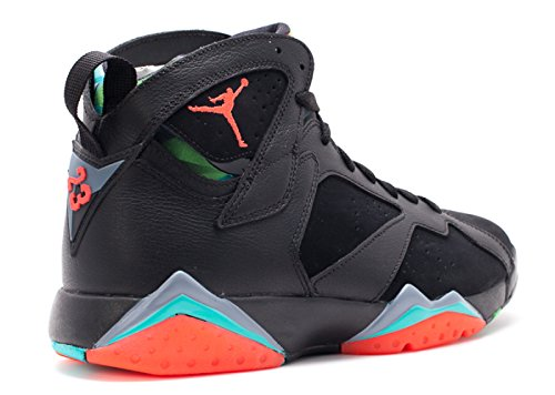 Nike Herren Air Jordan 7 Retro 30th Turnschuhe black, infrared 23-bl grpht-rtr