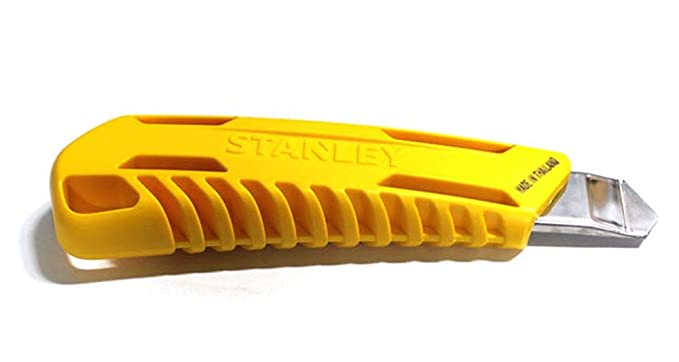 Stanley STHT102768 Steel Snap-Off Knife (Yellow)