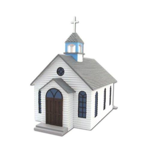 1st Church N Scale Train Building