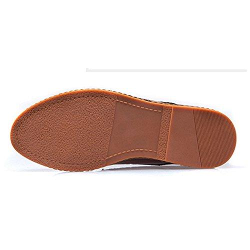 Chaussures Occasionnelles Ventilées Pour Hommes Fengda Noir