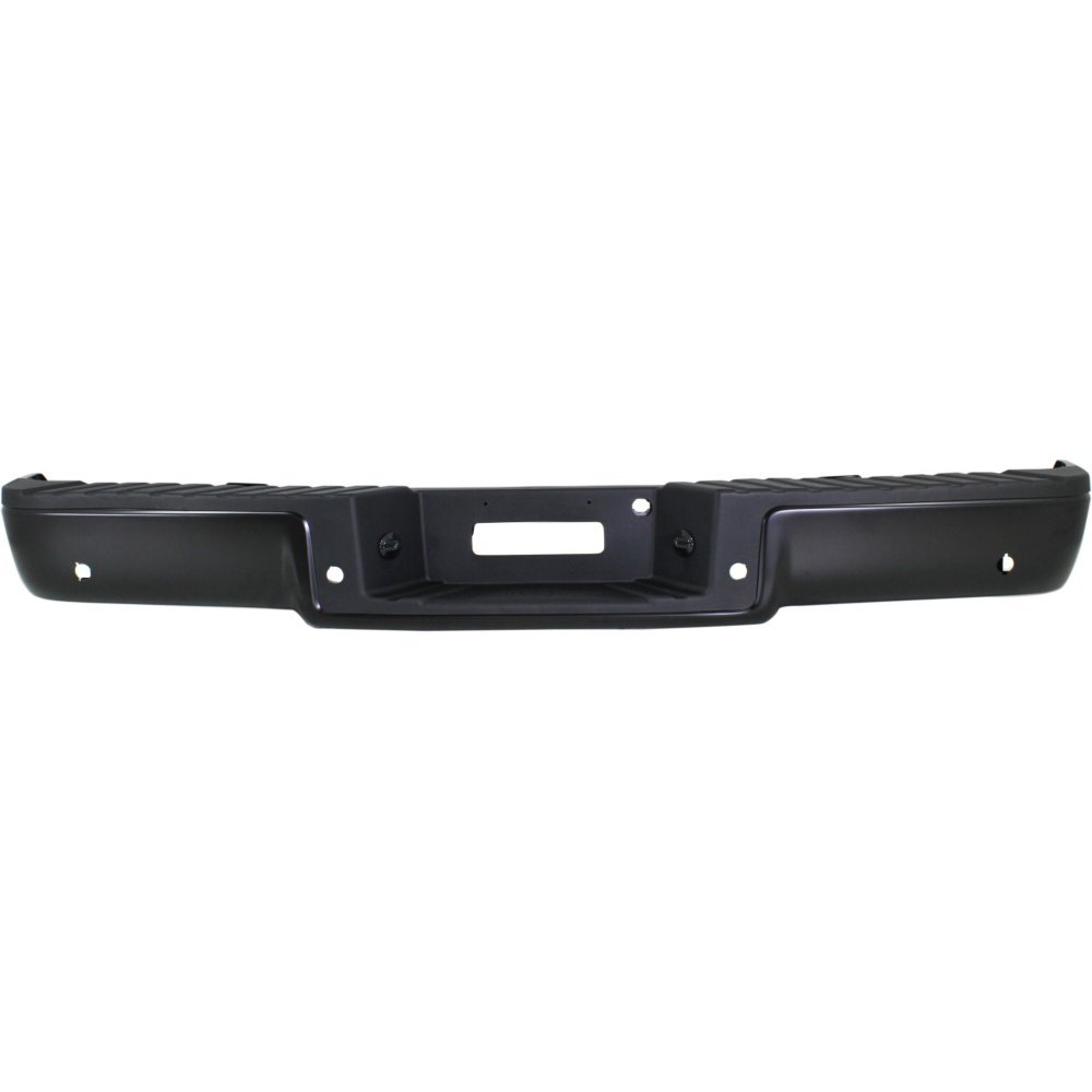 Step Bumper For 2004-2006 Ford F-150 06 Lincoln Mark LT Black Steel Hitch Style
