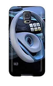 Galaxy S5 Case Cover - Slim Fit Tpu Protector Shock Absorbent Case (renault Fluence Dash Cars Other)