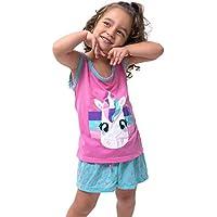 Pijama Bravaa Modas Infantil Curto 016